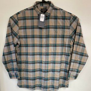 Pendleton Flannel Button Down Shirt Large NWT